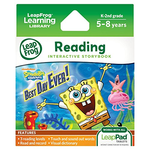 LeapFrog LeapPad Ultra eBook: SpongeBob SquarePants Best Day Ever! (works with all LeapPad tablets)