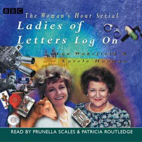 Ladies of Letters Log On audiobook cover art