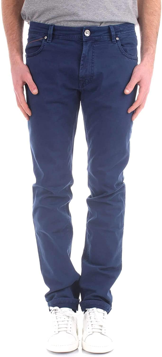 REHASH Men's PS4002499CS5889blueeE blueee Cotton Pants