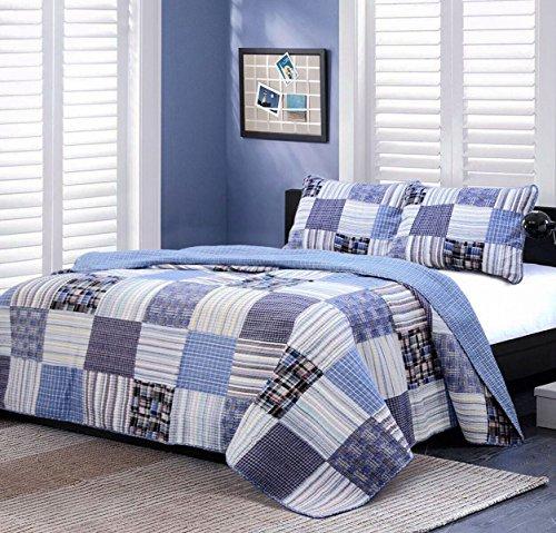 edredón azul fabricante Cozy Line Home Fashions
