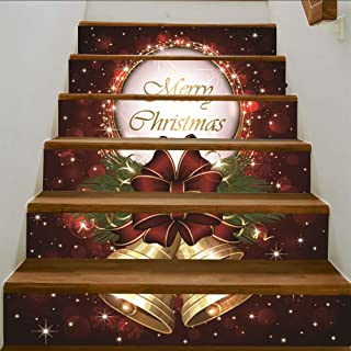 Best christmas decorative stair stickers Reviews