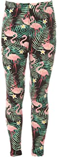 Girl's Full Length Buttery Soft Unique Design Printed Leggings for Kids - Ages 4~8 Halloween Holidays