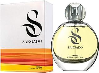 Sangado Jazmín Perfume para Mujeres Larga Duración de 8-10 Horas Olor Lujoso Floral Francesas Finas Extra Concentrado...