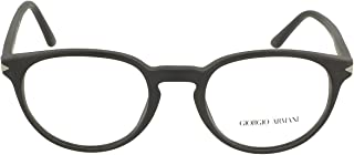 Giorgio Armani AR 7176 MATTE BLACK 50/20/145 men Eyewear Frame