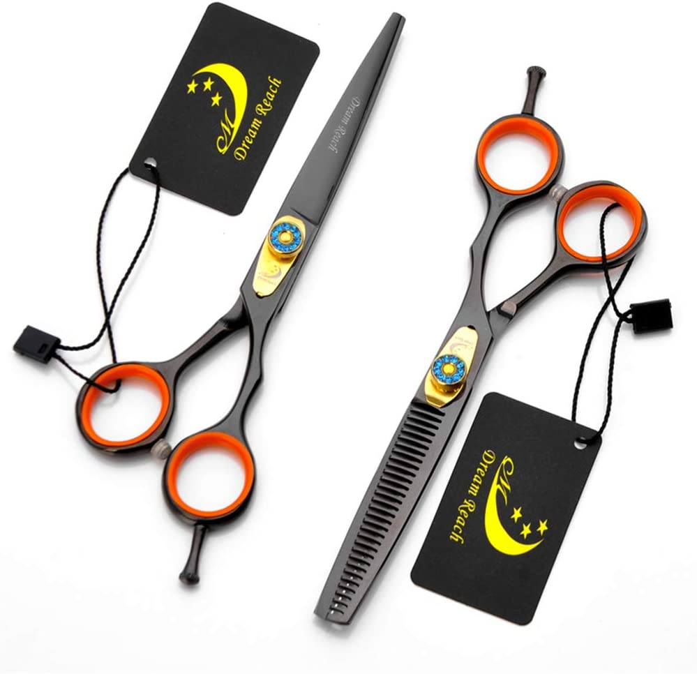Hair Cutting Max 84% Fashionable OFF Scissors Set 5.5 Inch Scis Hairdressing 6.0 Barber