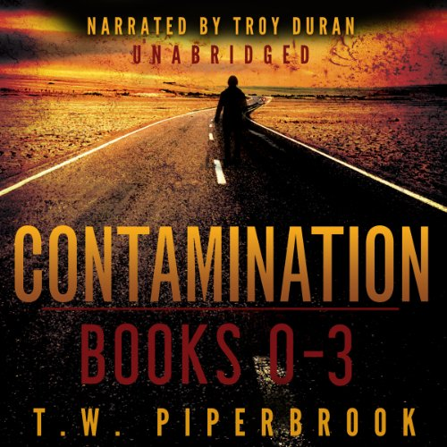 Contamination Boxed Set audiobook cover art