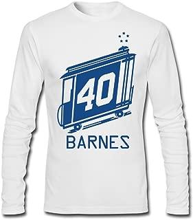 Golden State 40 Harrison Barnes Warriors [White Man T-Shirts