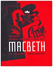William Shakespeare MacBeth WPA Poster Wall Art Print - (11x14) Unframed Picture For Home, Office, Dorm & Bedroom Decor - ...