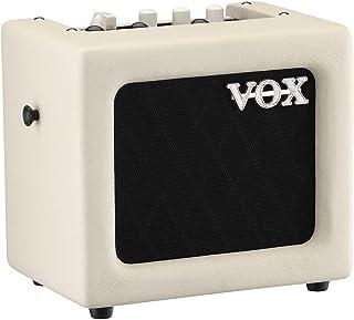 VOX ギター用 モデリングアンプ MINI3-G2 IV アイボリー 自宅練習 ストリートに最適 持ち運び 電池駆動 マイク入力 MP3接続 ヘッドフォン使用可 3W