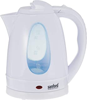 Sanford Electric Kettle - Sf866Ek-1.8L Bs - White