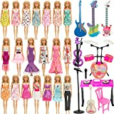 SOTOGO 30 Pieces Doll Clothes and Accessories for 11.5...