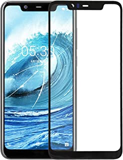 WTYD Mobile Phone Lens Glass Front Screen Outer Glass Lens for Compatible with Nokia X5
