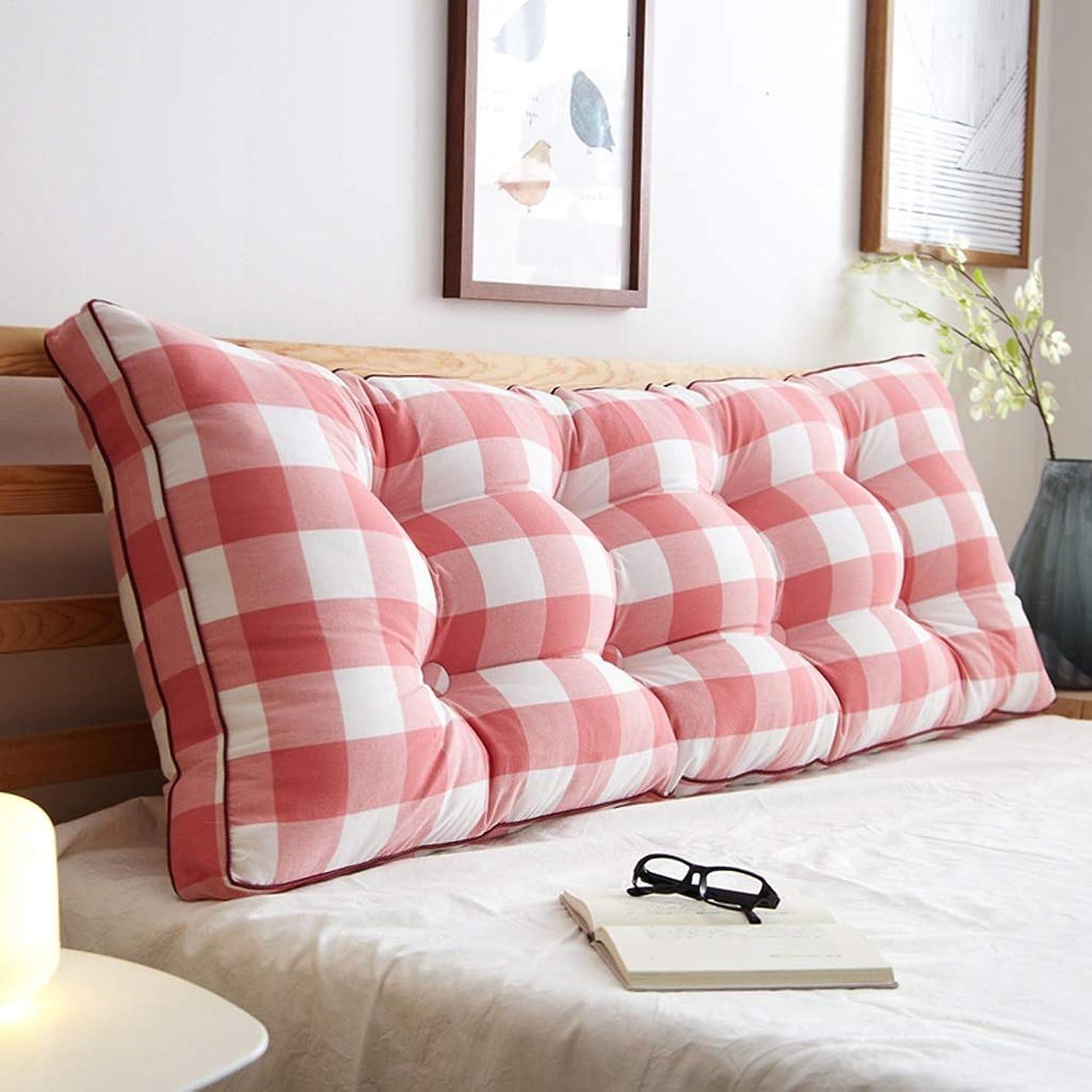 クロス重さライセンス寝室枕、ダブルロング枕ウエスト保護枕ベッドサイド大型背もたれオフィスホテル家庭用クラブ枕、長さ120-200センチ (Color : S, Size : 200*20*50CM)