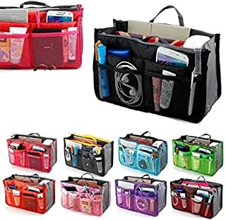 NARFIRE Women's Cosmetic Bag Toiletry Bag Multifunctional Mesh Travel Portable Storage Bag