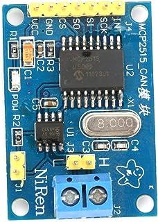 Hobbyant DC 5V MCP2515 CAN V2.0BバスモジュールTJA1050レシーバーSPI(L49)インターフェース制御抵抗ボード用Arduino電子DIY