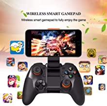 Bluetooth Gamepad Wireless 4.0 Joystick Dual Mode for iPhone or Android for Samsung Bluetooth Game Controller Joypad