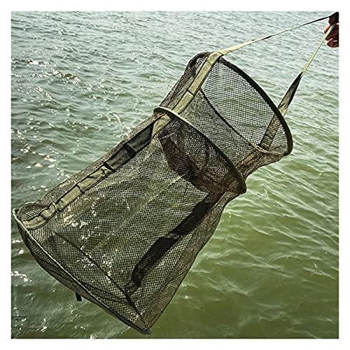 Red de pesca de 3 capas de peces plegables EDUCACIÓN FÍSICA Material Cuatro modelos Fish Care Net Monofilamento Pequeño Malla Pez Neto Pesca Herramienta de Pesca Outdoor Accesorios Barco de engranajes