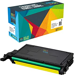 Do It Wiser Compatible Toner Cartridge Replacement for CLT-Y508L Samsung CLP-620ND CLX-6220FX CLX-6250FX CLP-620 CLP-670 CLP-670N CLP-670ND | Yellow