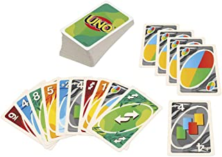 Mattel Games UNO Nothin' But Paper Family Card Game with 112 Cards & Instructions for Players 7 Years & Older, 100 Percent...