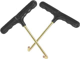 Vincilee Trampoline Spring Pull Tool (T-Hook) Trampoline Spring Tool(2 Pack