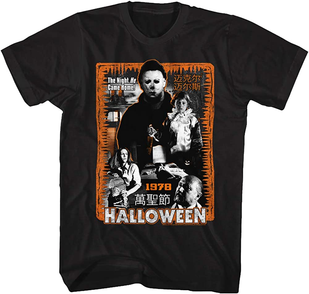 Mens HORROR T-Shirt Driller Killer Vintage Retro Slasher Halloween Film Movie
