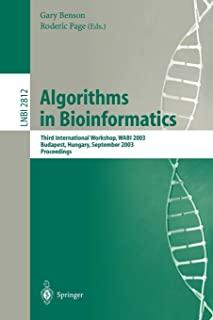 Algorithms in Bioinformatics: Third International Workshop, WABI 2003, Budapest, Hungary, September 15-20, 2003, Proceedin...