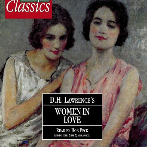Women in Love audiobook cover art