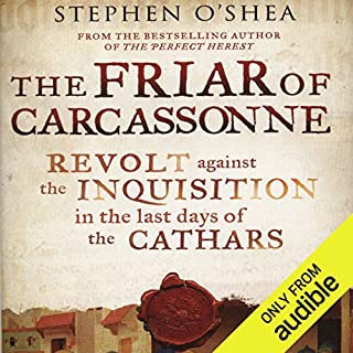 The Friar of Carcassonne audiobook cover art