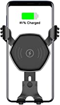 Wireless Car Charger,Tankey Fast Wireless Chargers Car Air Vent Auto-Clamping Car Mount Phone Holder Compatible for iPhone Xs Max/Xs/XR/X/8/8 Plus,Samsung Galaxy S9/S9+/S8/S8+/S7/S6 Edge/Note8/5 etc