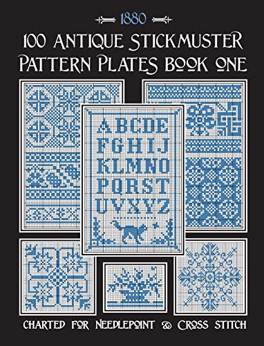 100 Antique Stickmuster Pattern Plates: Book One (English Edition)