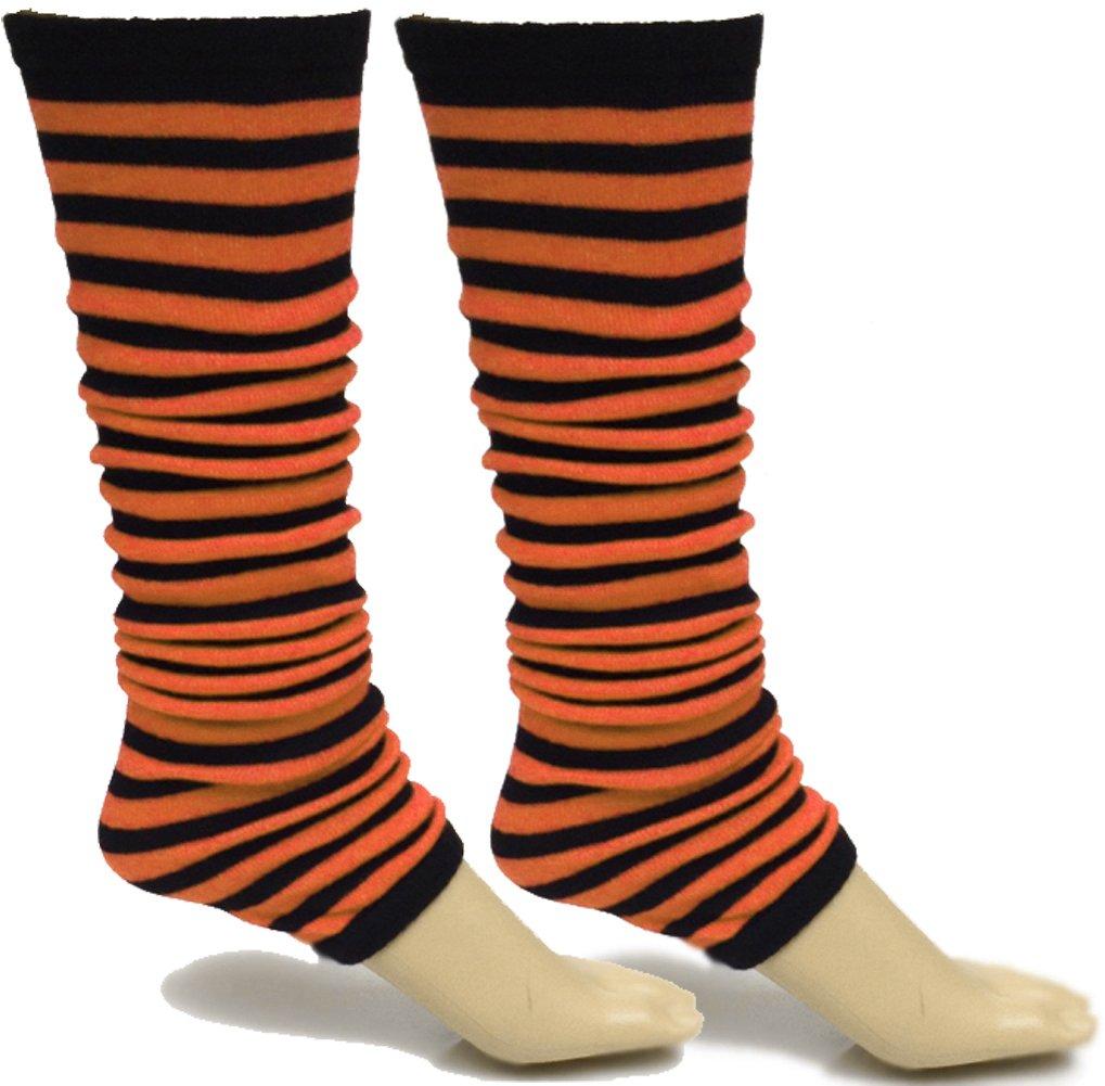 A-Express Mujer chicas rayas Calentadores de piernas para tutú ...
