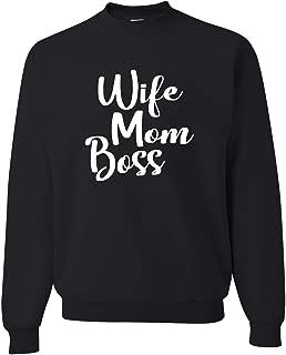 Best mom boss wife sweatshirt Reviews