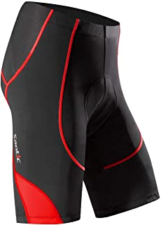 Santic Cycling Shorts Men`s Bike Biking Bicycle Pants Tights 4D Coolmax Padded