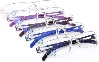 Blue Light Blocking Computer Reading Glasses Rimless Readers Anti Glare Filter
