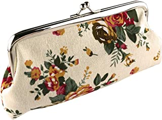 Amazon.es: flores de tela - Carteras y monederos ...