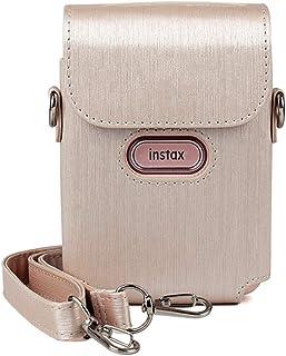 Hurricanes Camera Case Smartphone Printer Shoulder Bag for Fujifilm Instax Mini Link - Pink