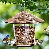 Hanizi Bird Feeder, Wild Bird feeders, Wild Bird seed, Wild Bird Feeders for Outside and Garden Decoration Yard for Bird Watchers