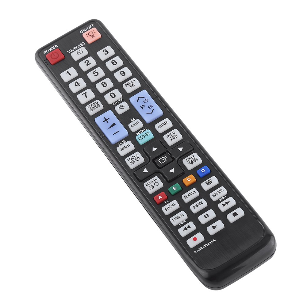 VBESTLIFE Repuesto Smart TV Remote Control de Televisión para Samsung AA59: Amazon.es: Electrónica