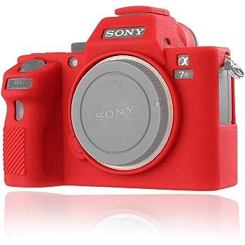 Suave silicona goma cámara caso para Sony A7 III un cuerpo Protectora Cubierta 7 RIII A9