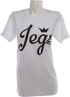 JEGS Apparel and Collectibles 18068 Ladies Script Logo T-Shirt XX-Large