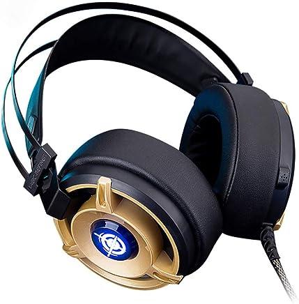 Gaming Headset Per PC PS4, Cuffie Surround Audio Over-Ear Con Microfono Cancellazione Di Rumore, Luci A LED, USB, Cuffie Audio Surround Over-Ear - Trova i prezzi più bassi