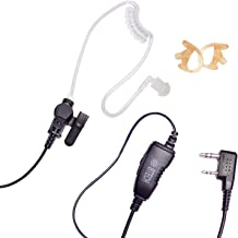 BTECH QHM07 Premium Noise Cancelling Earpiece with In-line PTT & Microphone (Includes..