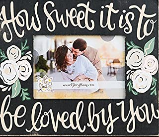 Glory Haus 30100107 How How Sweet It is Frame, Multicolor