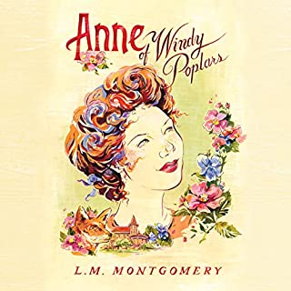 Anne of Windy Poplars audiobook cover art