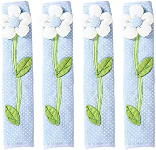 OSALADI 4Pcs Refrigerator Door Handle Covers Kitchen Appliance Gloves Anti-Slip Anti-static Pull Handle Protector for Oven...