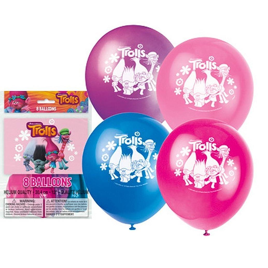 Unique Trolls Party Balloons, 1 Pack