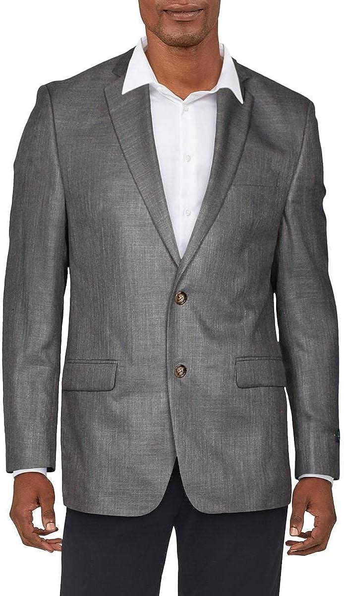 LAUREN RALPH LAUREN Mens Lexington Tweed Sportcoat Two-Button Blazer