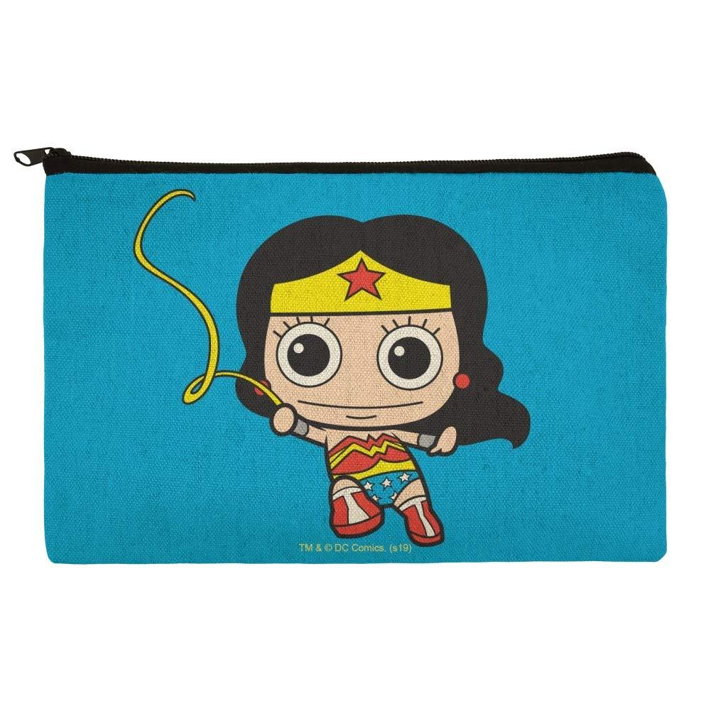 Wonder Woman - Estuche organizador de lápices con cremallera: Amazon.es: Oficina y papelería