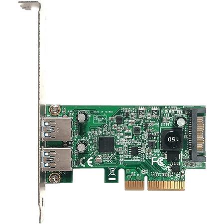 玄人志向 ASMedia社製 ASM3142搭載 USB3.1 TypeA インターフェース(PCI-Express x4接続) USB3.1A-P2-PCIE3