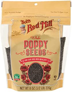 Bobs Red Mill Poppy Seeds, 8 Ounce -- 6 per case.